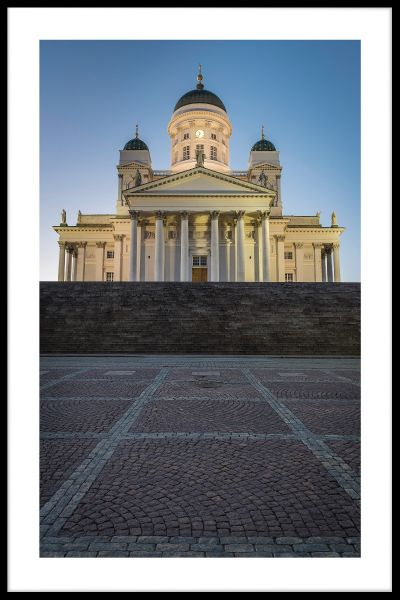 Helsinki Cathedral N03 Poster